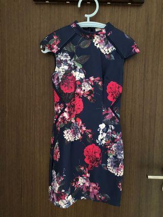 Love bonito Floral Cheongsam Dress
