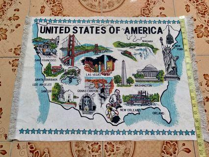 MAP UNITED STATE OF AMERICA