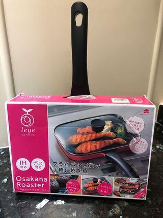 Panci bbq made in japan (osakana roaster)