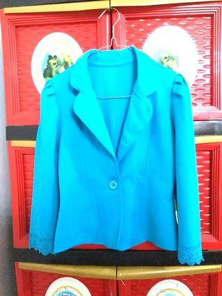 #BAPAU blazer biru