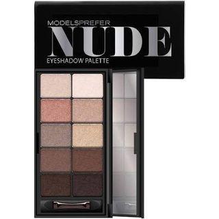 MODELS PREFER Nude Eyeshadow Palette 10 Shades 14g
