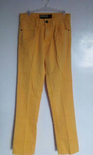 Repriced!!! 250.00 Micros Mustard Yellow Trouser