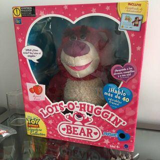Lotso bear toy story 3 signature collection. Plush toy strawberry lots of hugging