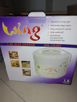 2017 Unused Rice Cooker 1.8 Liter