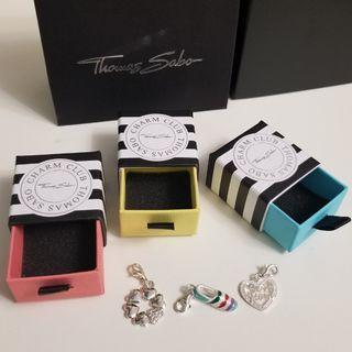 (全新) Thomas Sabo - bracelet charms (3pcs)