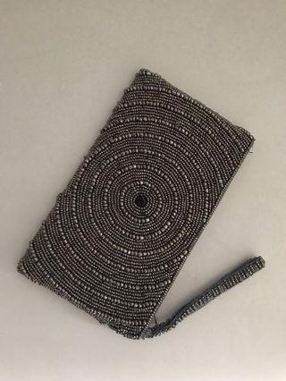 Fully beaded clutch purse (Egyptian)