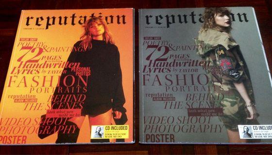 Taylor Swift : Reputation Vol 1 & 2