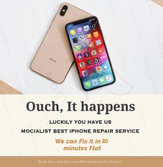 iPhone Repair! On the spot! (Face To Face) Free Doorstep!