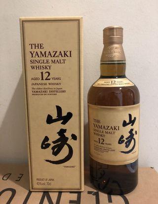 Yamazaki 12 w original box