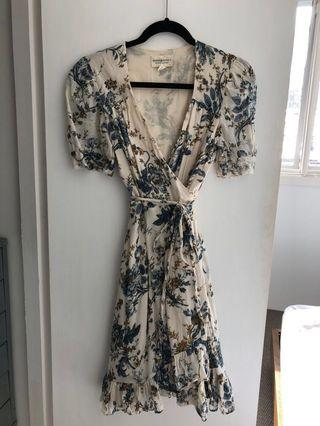 Ralph Lauren print wrap dress