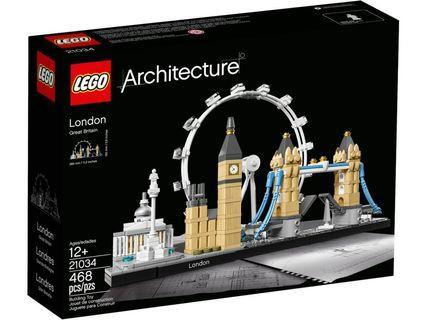 [ 送貨的 ] Lego 21034 London