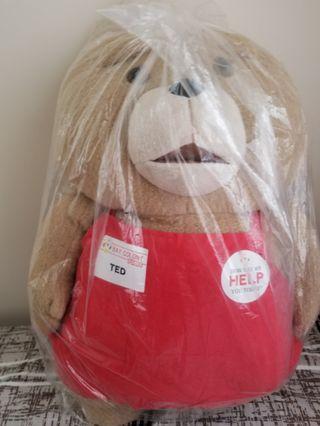 Ted stuffed toy 賤熊大毛公仔 (18吋高) 日本直送景品 夾公仔