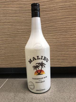 🚚 Malibu Carribean Rum Coconut 1L