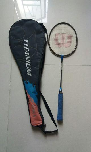 Wilson badminton racquet