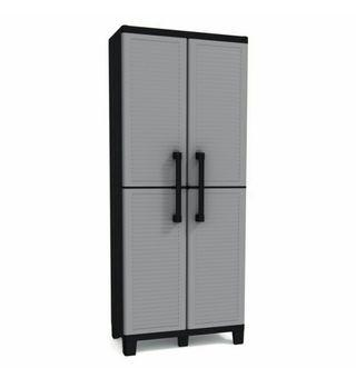 🚚 Keter Space Winner Tall Metro Storage Utility Cabinet Indoor / Outdoor Garage or Home Storage with Adjustable Shelves