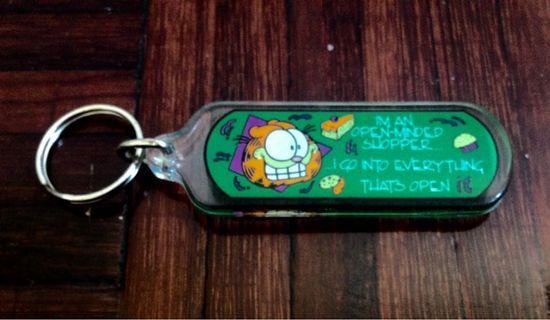 Garfield Vintage Keychain