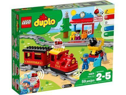 [ 送貨的 ] Lego 10874 Steam Train