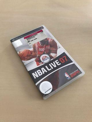 PlayStation Portable PSP NBA Live 07 UMD