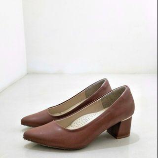 🚚 FM訂製款-莫蘭迪防水靜音跟鞋