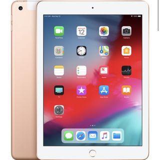 🚚 全新未拆 iPad 2018 9.7 128G LTE 金