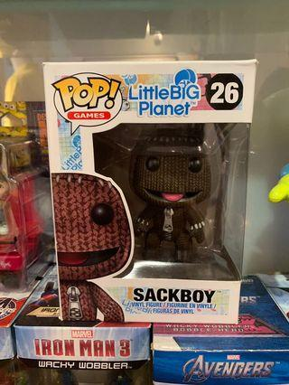 🚚 POP Little Big Planet SACKBOY「小小大星球-布娃娃」