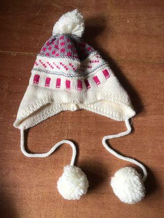 冬季毛帽  9成新