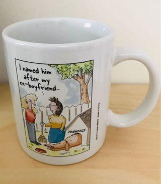 🚚 Ex-boyfriend humorous mug