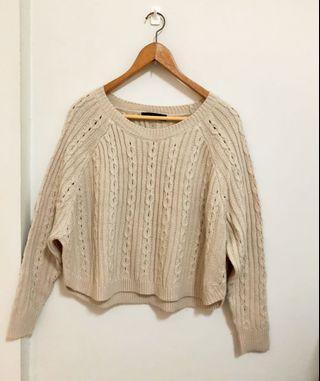🚚 Queen shop 短版 毛衣