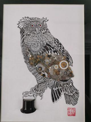 #1: Wisdom Series--The Owl