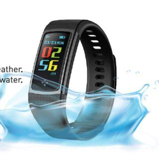 Curve Kaze Bluetooth Fitness Wristband. Call/SMS Notifications.Sleep Monitoring, Blood Pressure Measurement and Oxygen Saturation Measuremen