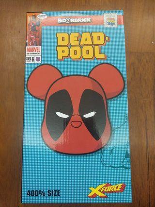 全新bearbrick Deadpool 400%