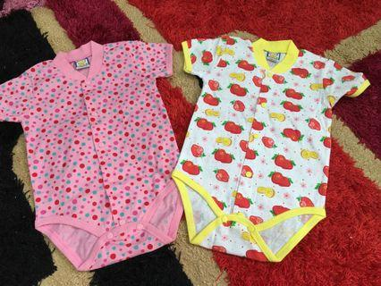 Baby Rompers 2 pcs size 3 months