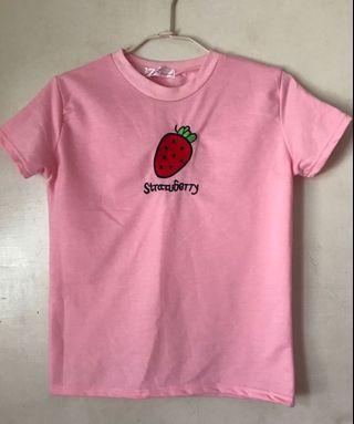 粉色 草莓🍓上衣