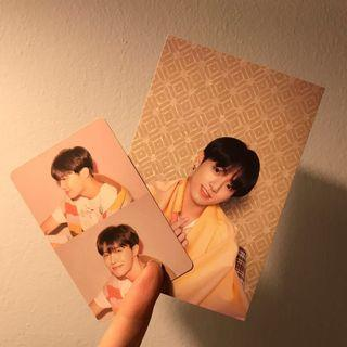 WTS JUNGKOOK POST CARD & JHOPE PC PERSONA