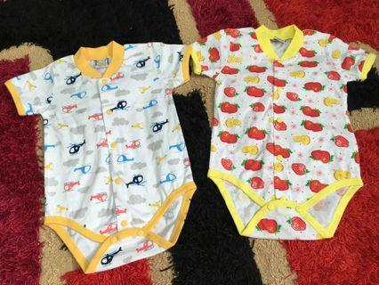 Rompers 2 set size 3 months