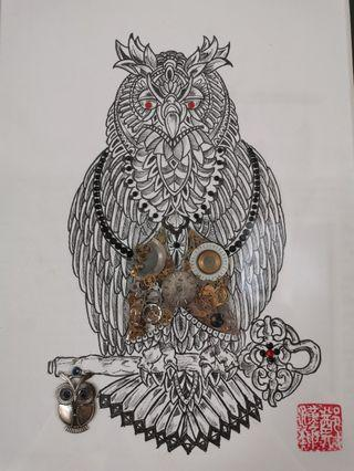 #2: Wisdom Series-The Owl
