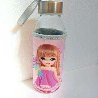 水瓶 玻璃水瓶 大眼妹子款 容量300ml