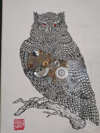 #3: Wisdom- The Owl