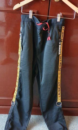 🚚 OFF WHITE sweat pants design 2