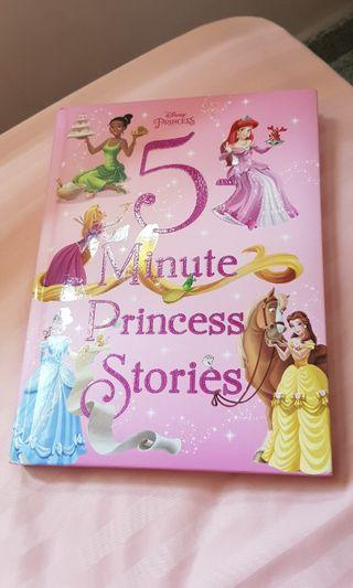 🚚 Disney princess 5min princess stories