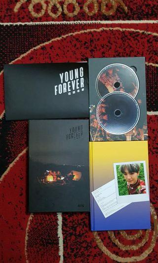 BTS ALBUM YOUNG FOREVER NIGHT FULLSET