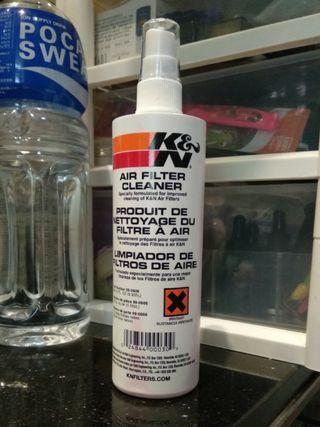 K&N風隔清潔液