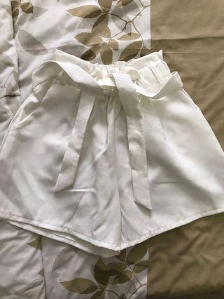 SALE White Shorts