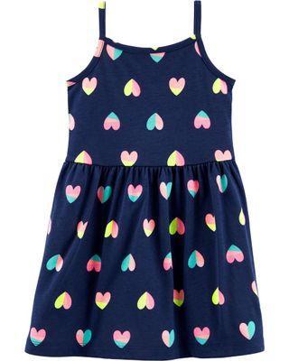 Carter's Heart Tank Dress