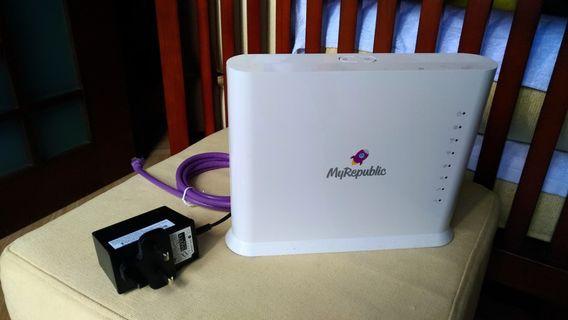 🚚 Wifi Router / MyRepublic wifi hub