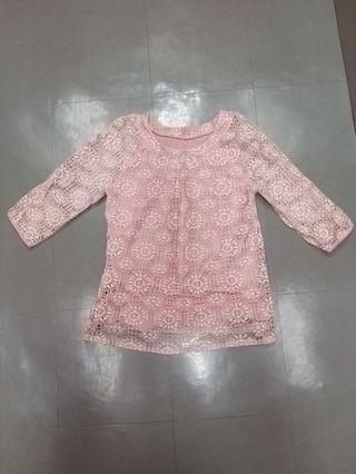 Light Pink Top 淺粉紅 上衣