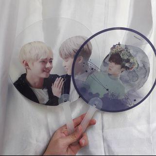 [wts] bts transparent fan