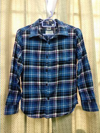 Uniqlo Flannel Boy Kid Shirt #gayaraya