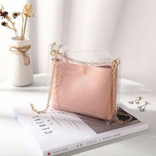 Transparent Sling Bag ( 3 colours)