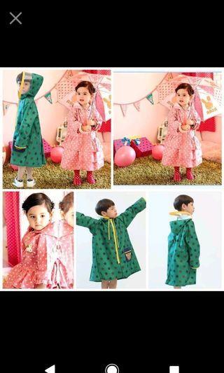 現貨粉1🔥韓版兒童雨衣